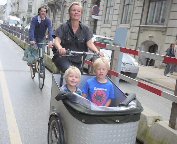 コペンハーゲンのお母さん