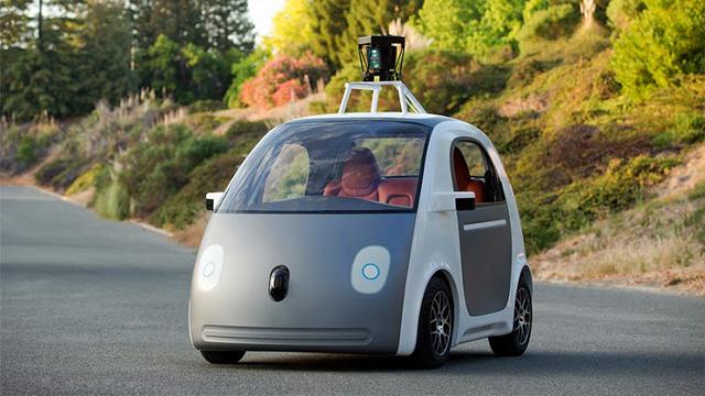 グーグル自動運転車プロトタイプ