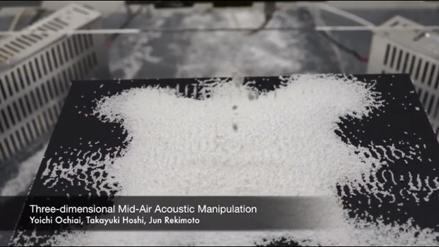 Three-Dimensional Mid-Air Acoustic Manipulation