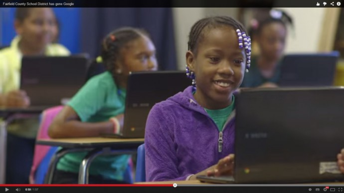Chromebookと授業風景