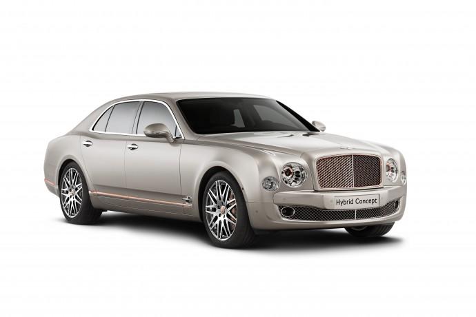 Bentley Hybrid Concept Front