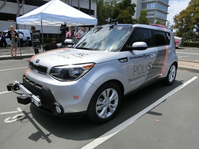 米ポリーシンク社の実験車両