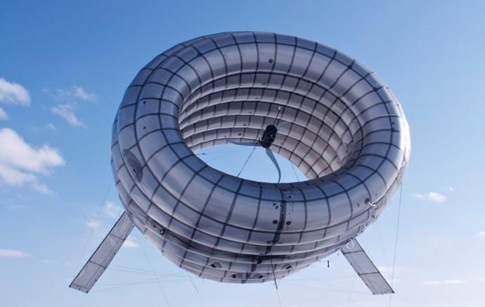 バルーンエアタービン 風船風力発電