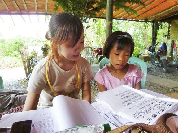 フィリピンで教育支援ALPHA笠井美和