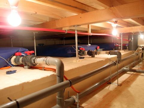 エクセルギーハウス床下雨水タンク