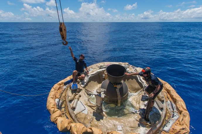 LDSD_NASA着水