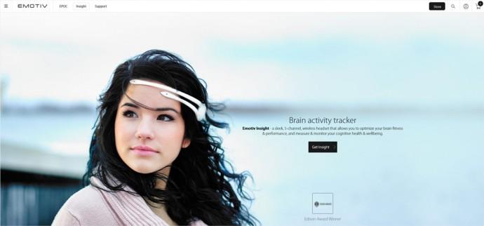 脳波(EEG)解析ワイヤレスヘッドセット Emotiv Insight