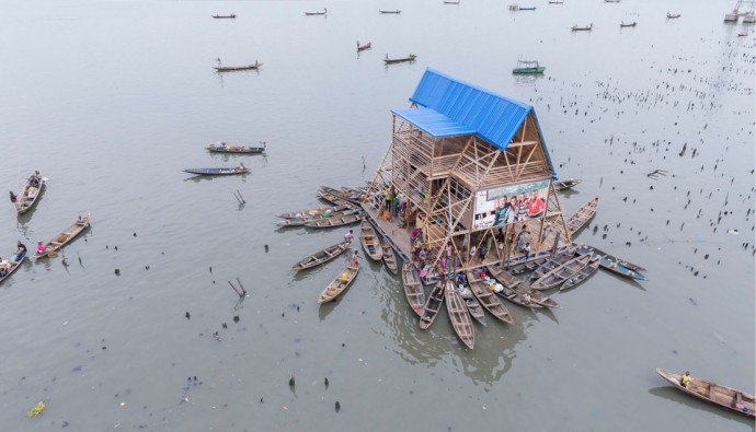 floating school Makoko Lagos