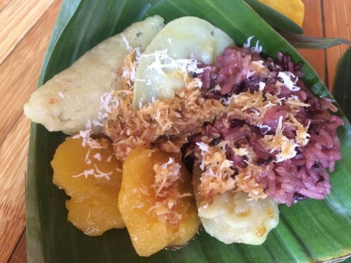 朝食 グリーンスクール インドネシア バリ島