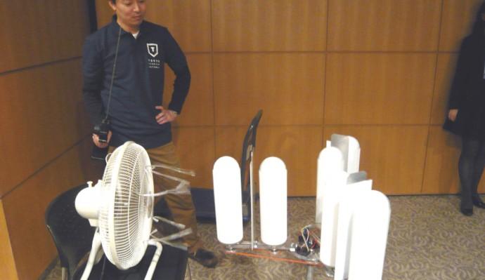 マグナス風力発電機