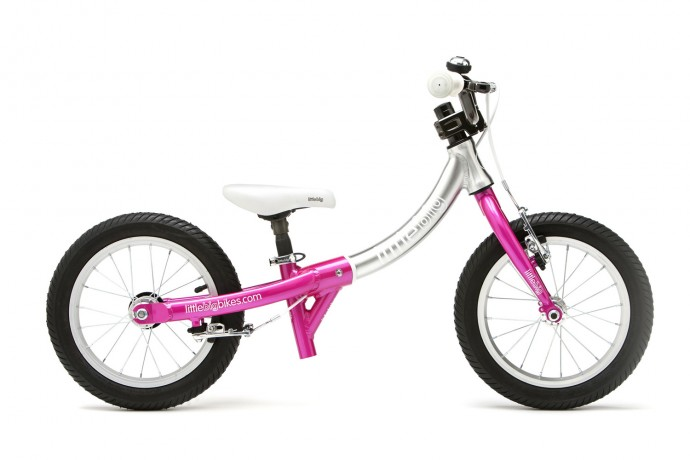 littlebig-little-balance-bike-sparkle-pink-side-view
