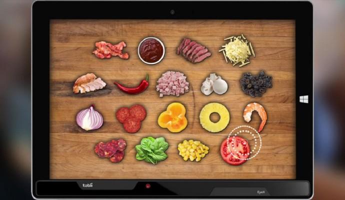 どの食材を見ているか解析