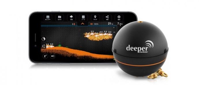 Deeperとスマートフォン画面