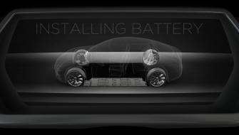 テスラモーターズがバッテリ-交換プログラムの試験運用を開始