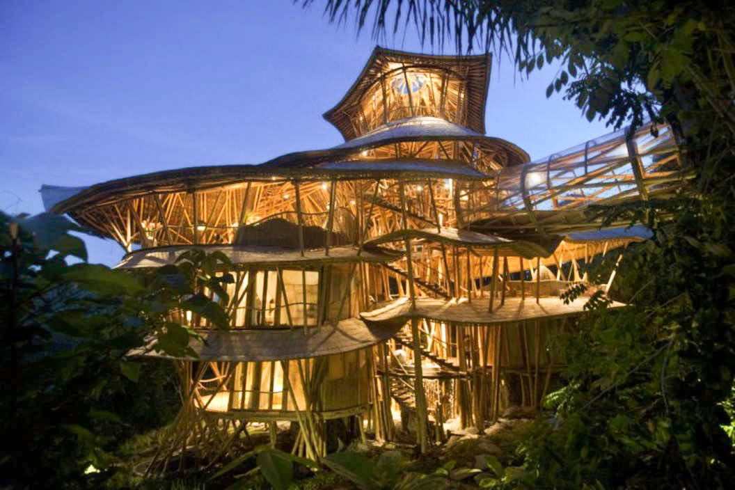 Bamboo Hut Design Costa Rica
