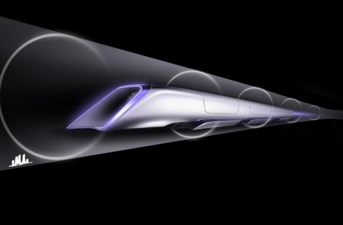 音速目前でリニアより速い!「Hyperloop」の実験線建設が始まる