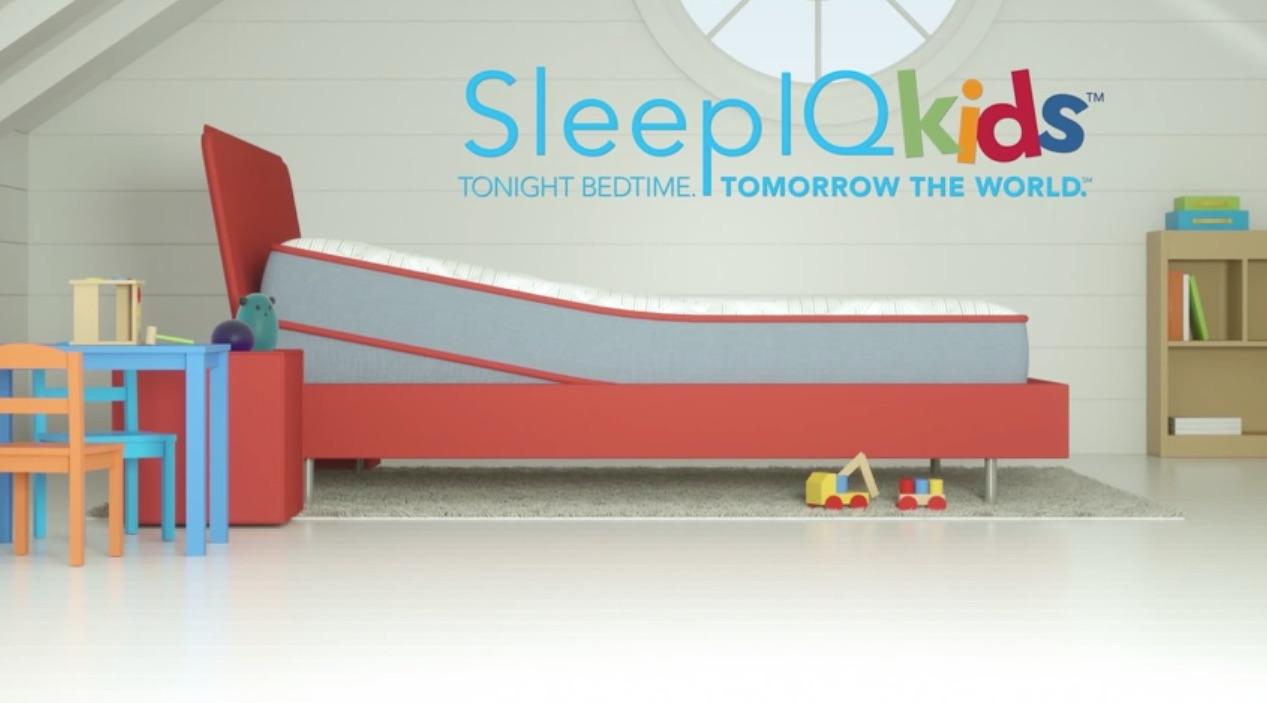 Sleepiq kids futurus for Sleep number iq bed