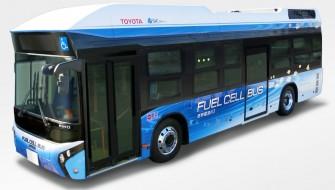 トヨタMIRAIの「心臓を2個持つ」燃料電池バスで低炭素社会を目指す
