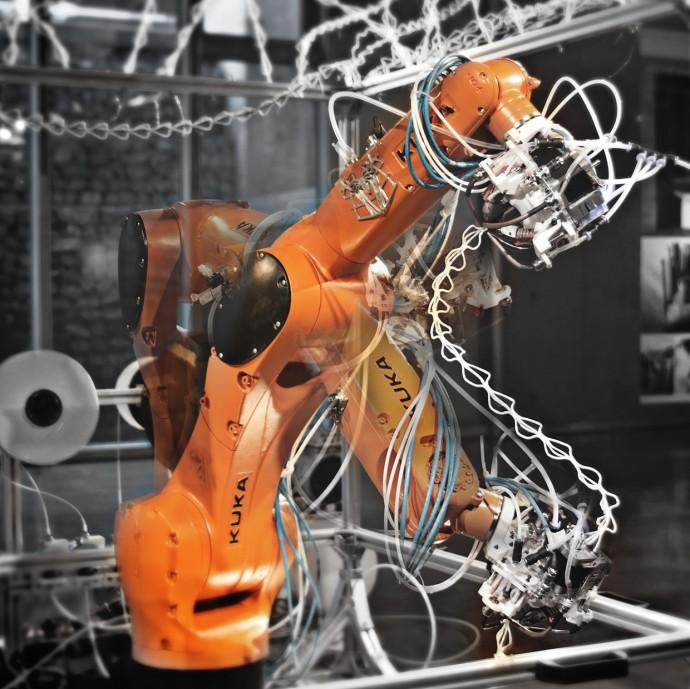 Robotic Extrusionが自由な造形を出力