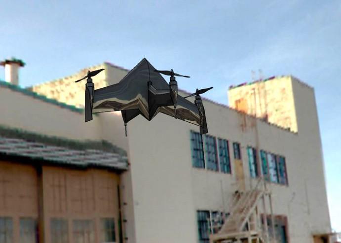 時速100kmの驚きの飛行スピード!垂直離着陸も可能なドローン