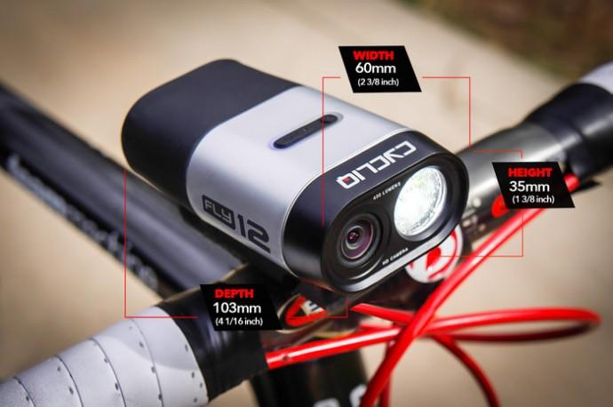 決定的瞬間がHD動画で撮れるかも!? でもこれは自転車用のライト