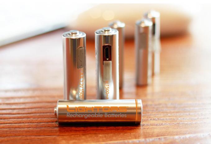 年間100億本消費される乾電池を「USB充電式」に変えよう