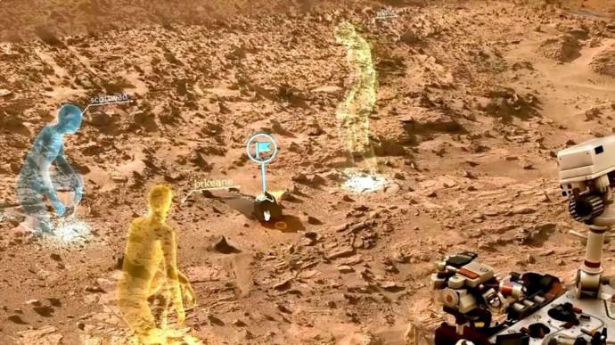 マイクロソフトとNASAがタッグを組み「火星調査」に乗り出す
