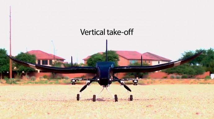 空中で「トランスフォーム」するVTOLドローンなんて欲しすぎる!