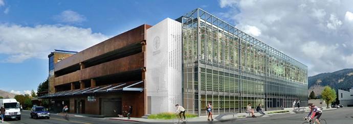 食料自給率UPの秘策か?「1/10の面積」で賄える3階建て温室