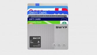 タッチ一つで変幻自在!25種類ものカードを一元管理する「SWYP」