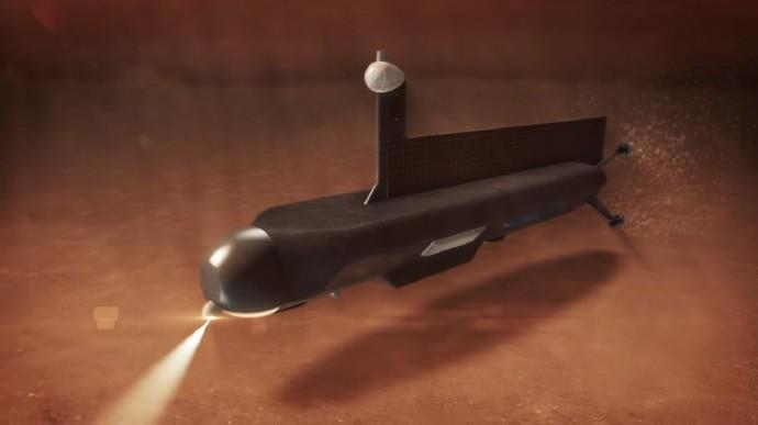 Titan Submarine潜水中