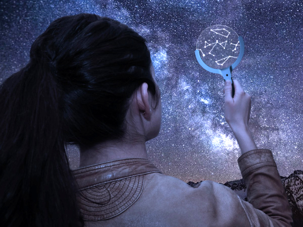 星空に込められた伝説を教えてくれる「ロマンチック」な虫眼鏡?