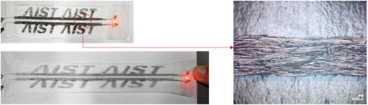 導電配線 繊維