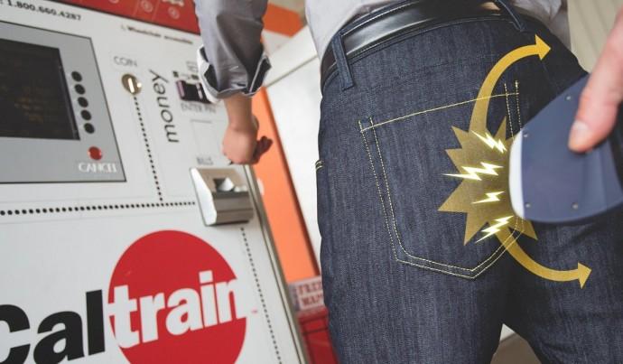 スマホのデータを服で守る!? 「スキミングブロック」が可能なジーンズ