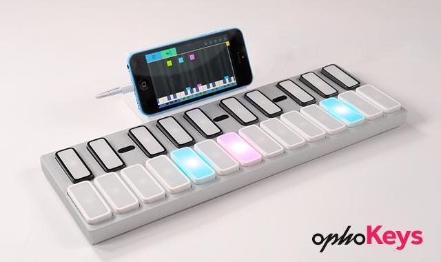 次世代キーボード「Keys」はジェスチャー演奏もできて連結も可能
