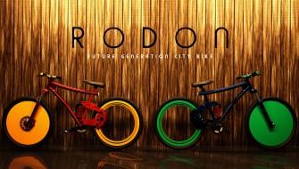 これが次世代チャリ「RODON」…スポークないけど大丈夫?