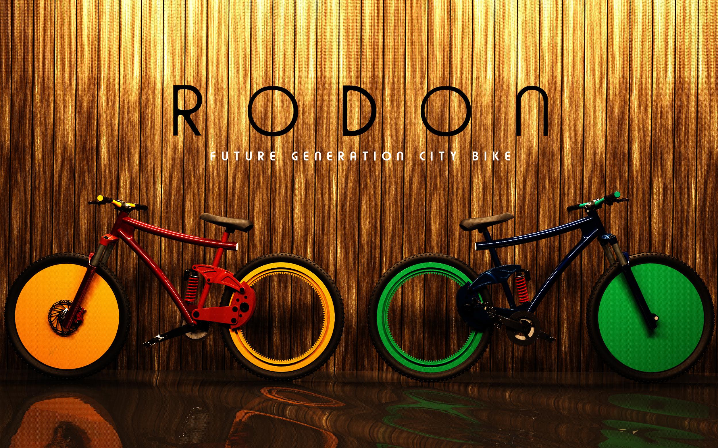 これが次世代チャリ「RODON」…スポークないけど大丈夫? | FUTURUS(フトゥールス)