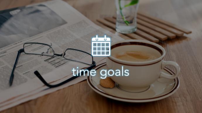 Time Goals