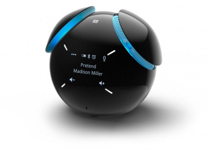 ソニー製「ハロ」!? 天気やスケジュールの問いかけにも答える球形スピーカー