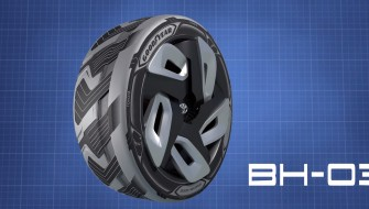 電気自動車のためのタイヤ登場か?回転熱からエネルギーを生み出す「BH03」