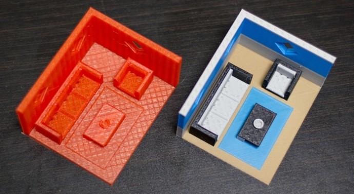 単色3Dプリンターがカラーに