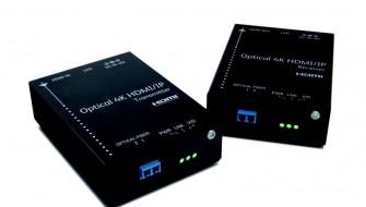 富士ゼロックスが世界初の「4K映像・LANデータ」を同時伝送できる光伝送器を発売