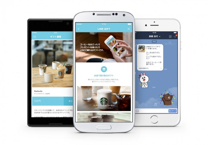 住所を知らなくてもギフトがおくれる「LINE ギフト」!ソーシャルギフトサービスは人とのつながり方を変えるか