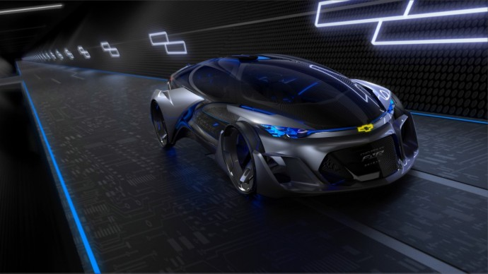 Chevrolet-FNR走行中