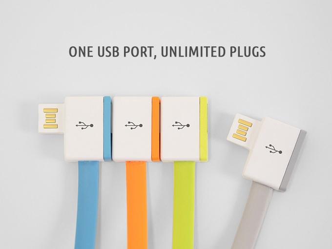 USBポートが1つしかないときに便利!つなげて使える「InfiniteUSB」
