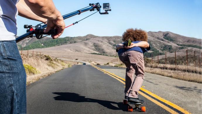「GoPro」とあわせたら映画が撮れそう!? 素人でもひとりジブクレーンができるキット