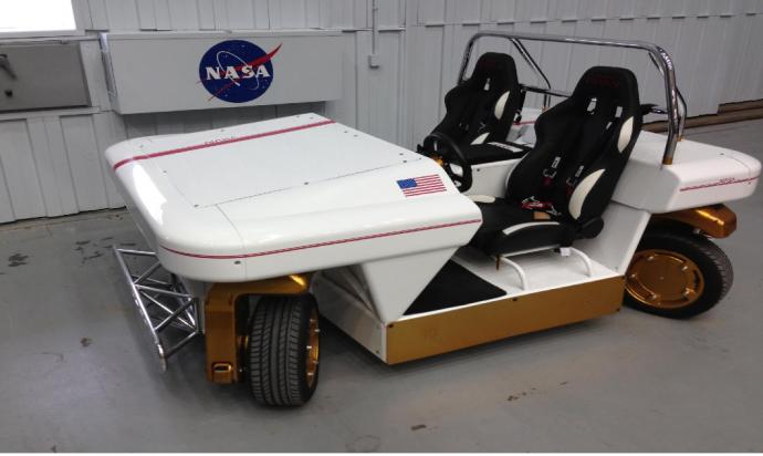 NASA開発の電動バギーが「横走り」できるとか楽しそう