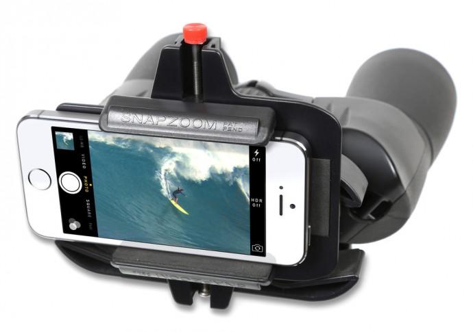 望遠鏡や双眼鏡で見たものをスマホで撮影したい…そんな時にこのアイテム