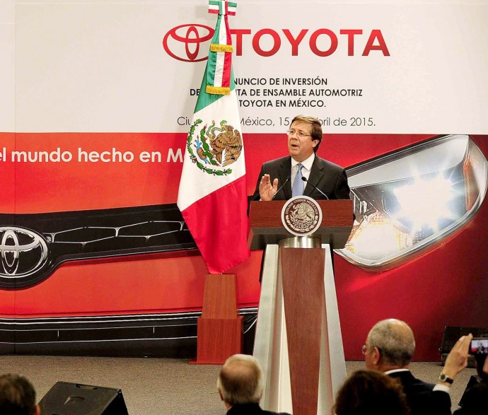 トヨタがメキシコ・中国に新工場を建設・・・動き出す世界戦略