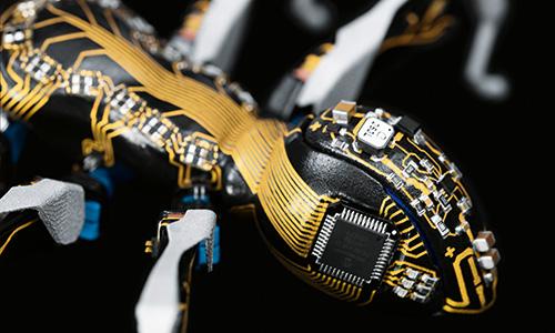 BionicANTsの電子回路